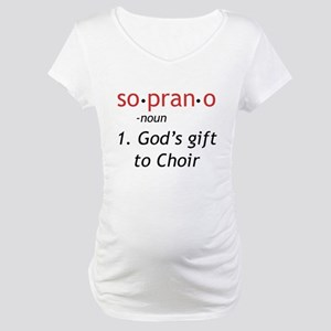 Soprano Definition Maternity T-Shirt